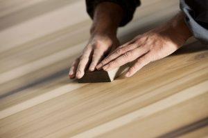 sanding hand