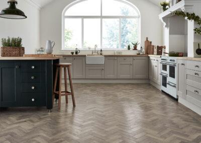 Storm Oak Kitchen Wooden Floor