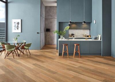 Prairie Oak Kitchen Wooden Floor