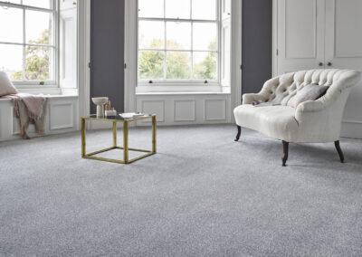 Stain Free Twist French Grey Abingdon Carpet